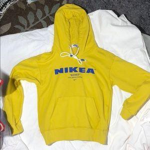 Nikea offwhite vintage hoodie